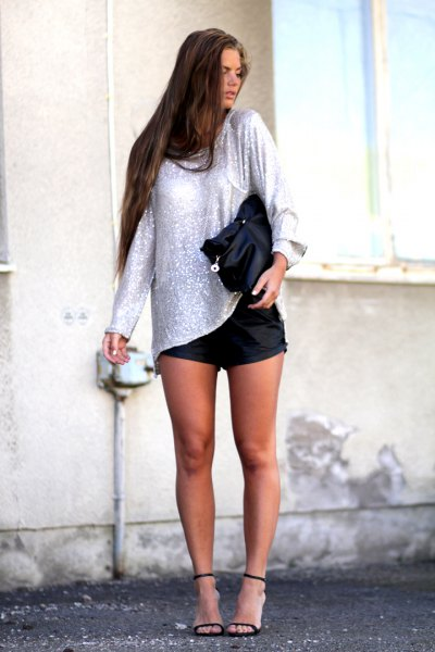 How to Wear Black Ankle Strap Heels: Top Outfit Ideas - FMag.c