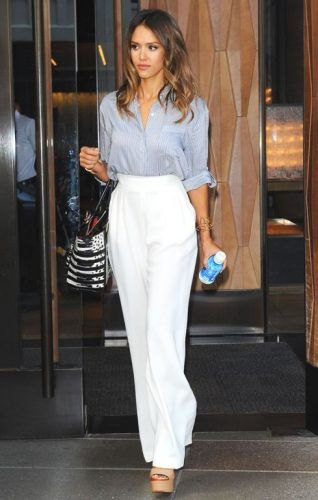How to Style White Palazzo Pants: 15 Breezy Outfit Ideas for .