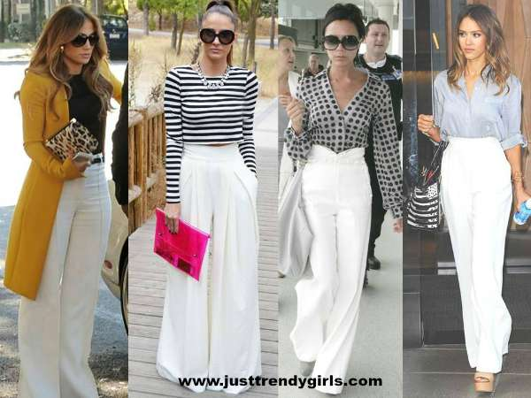 palazzo white pants – Just Trendy Gir