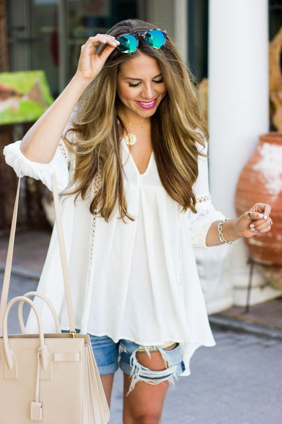 52 Fashionable and Bright Outfit Ideas For Summer 2017 | Fashion .