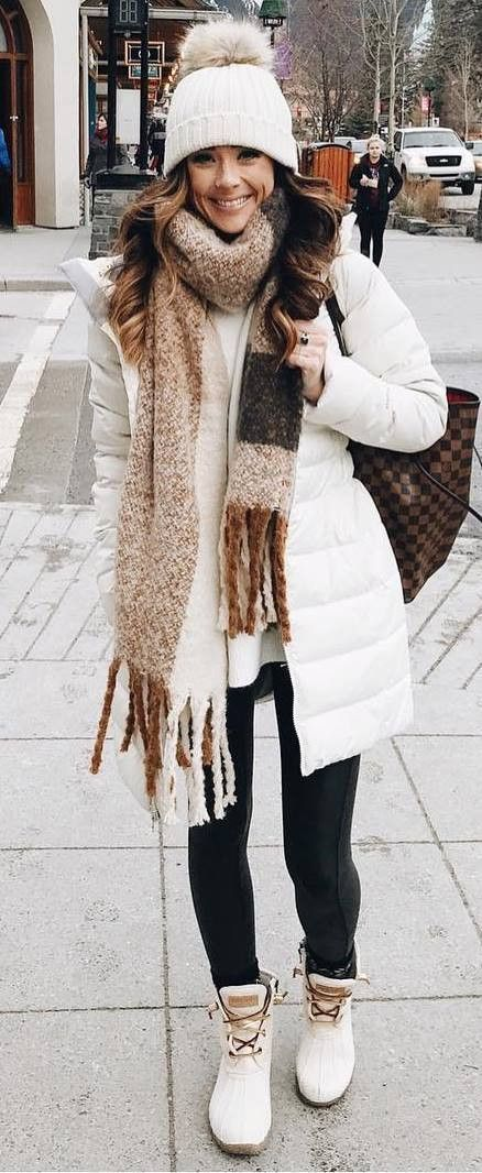 30+ Cute Winter Outfit Ideas To Copy This Season | Winter fashion .