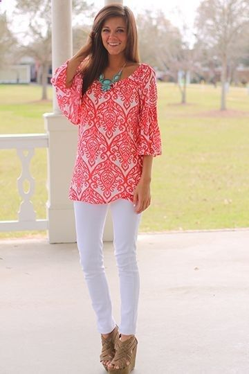 30 Days of Summer: Outfit Idea 17 - White Skinny Jea