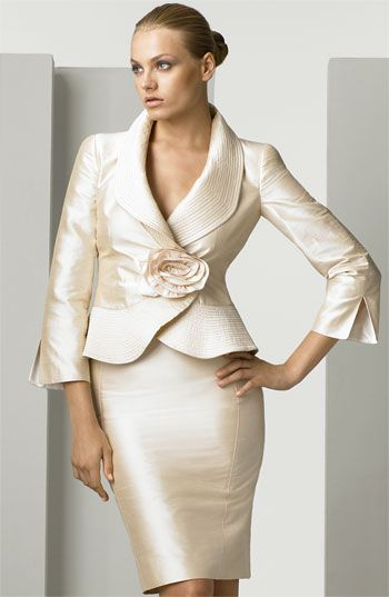 Idea by Kerry Baker on Dressing with class | Women suits wedding .