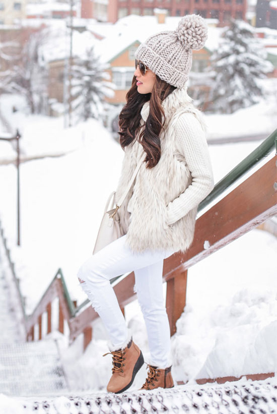 5 Stylish Snow Outfit Ideas | Be Daze Li