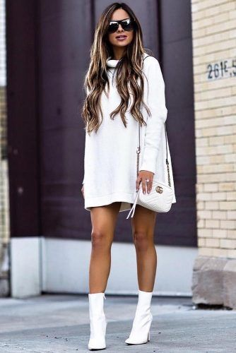 27 Inspiring Ideas How To Rock A Sweater Dress On Daily Basis .