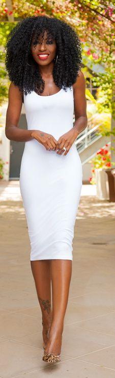 White Tank Dress – Fashion dress