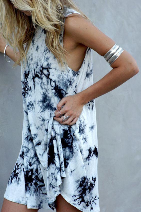 tie dye dress | Fashion, Style, Boho fashi
