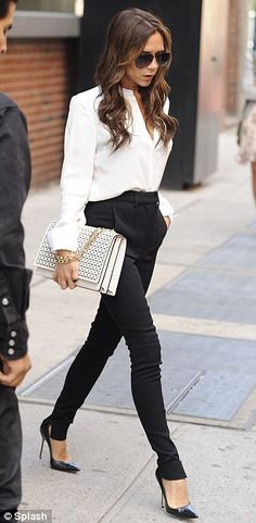 49 Best White blouse outfit images | Clothes, How to wear, Fashi