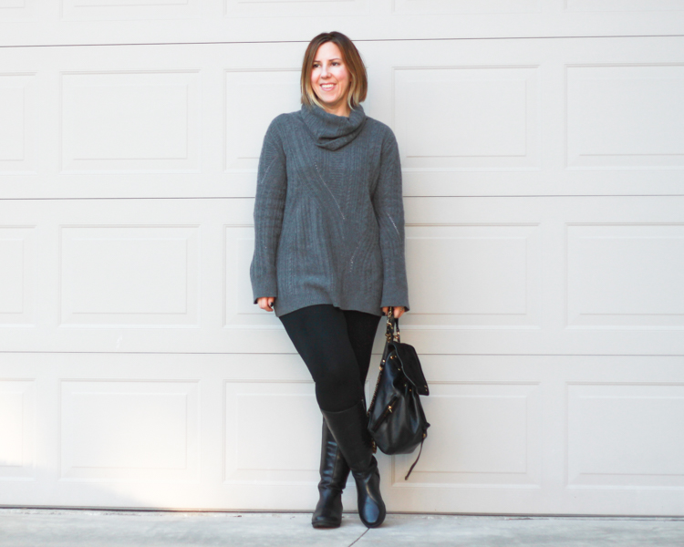 Outfit // Duo Wide-Calf Boots Revi