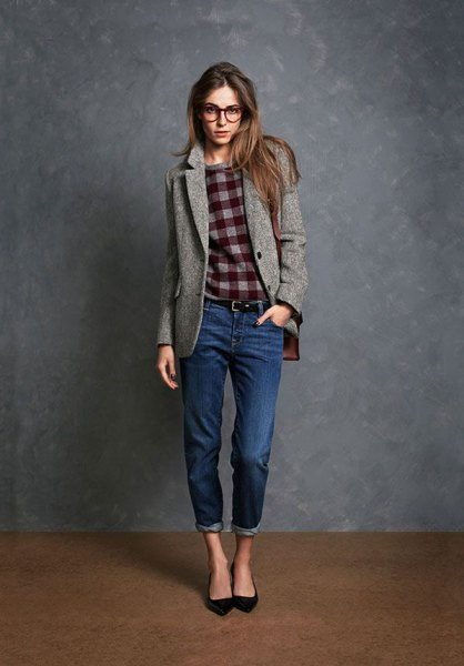 How to Style Wool Blazer: 15 Unique Outfit Ideas for Ladies - FMag.c