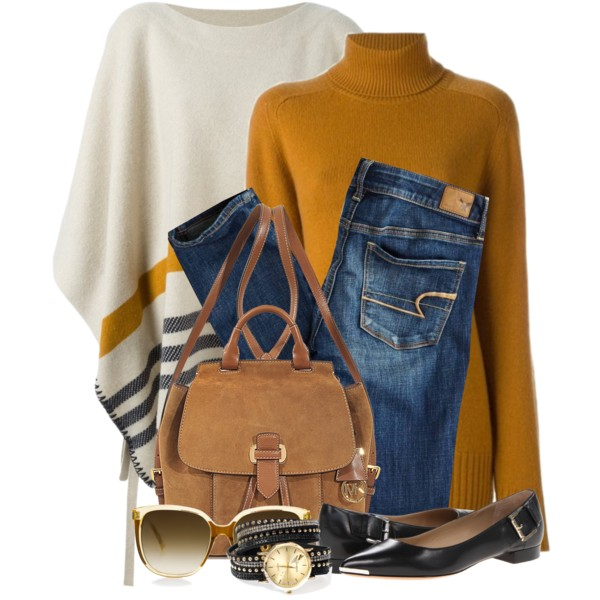 Poncho Outfit Ideas For Women Over 40 2020 | Style Debat