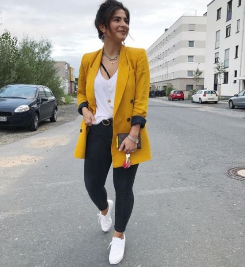 Work wear outfit ideas | Blazer outfits for women, Blazer outfits .
