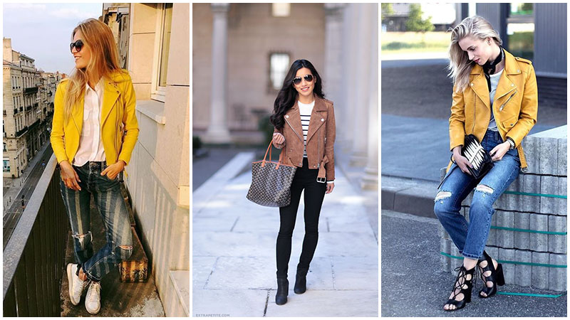 What to Wear With a Leather Jacket - The Trend Spott