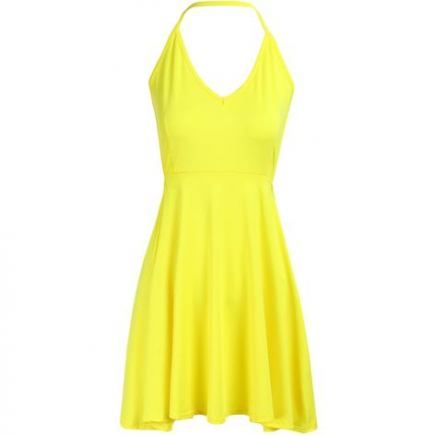 Dress Cocktail Yellow 15+ Ideas For 2019 #dress | Short yellow .
