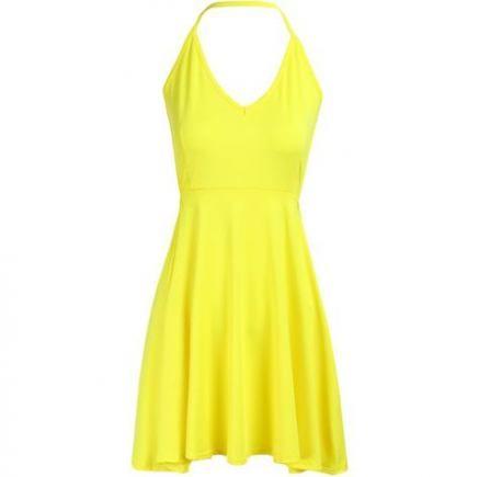 Dress Cocktail Yellow 15+ Ideas For 2019 #dress | Short yellow .