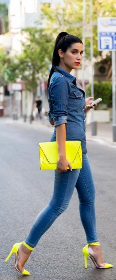 68 Best yellow heels images | Yellow heels, Fashion, Hee