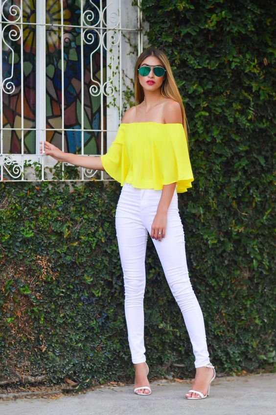 Yellow Outfits For Women-14 Chic Ways to Wear Yellow outfi