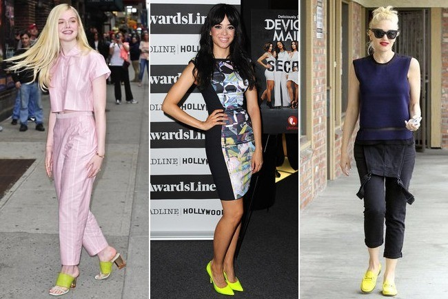 Easy Outfit Upgrade: Wear Neon Yellow Shoes - Outfit Ideas - Living