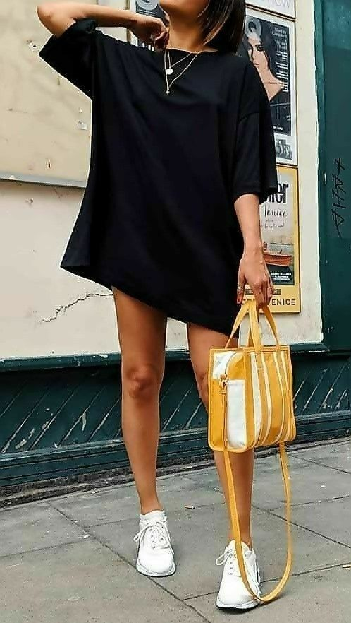 6 T-Shirt Dress Outfit Ideas You Should Try Right Now | Shirt .